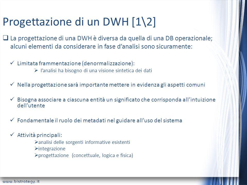 Progettazione di un DWH [1\2]